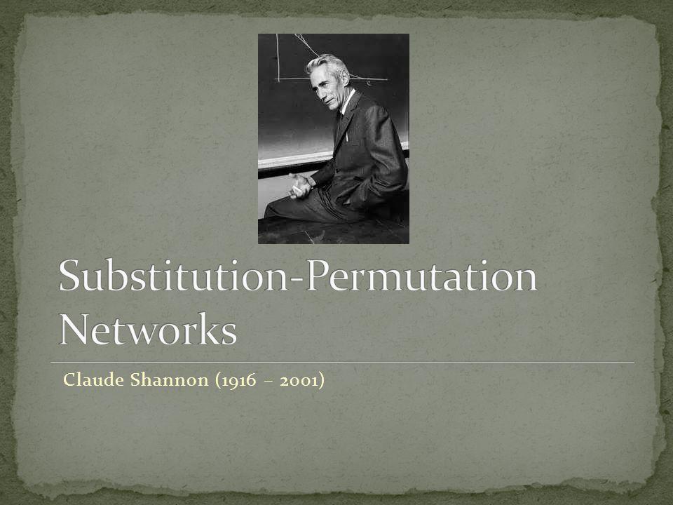 Claude Shannon (1916 – 2001)