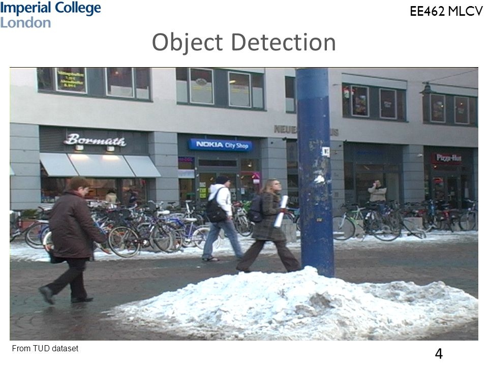 EE462 MLCV Object Detection 5 From TUD dataset