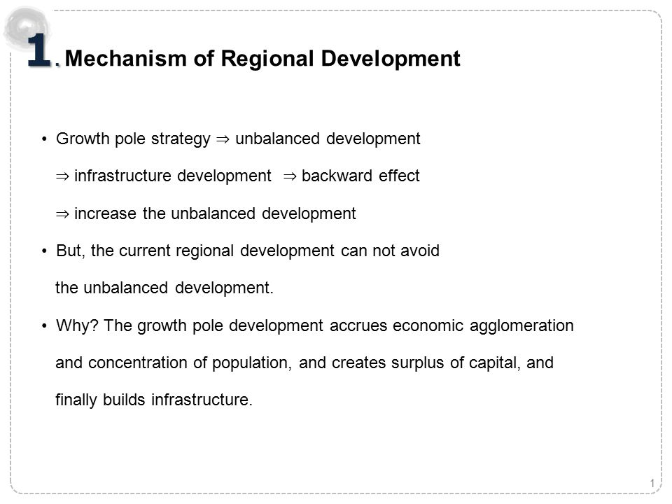 2 Growth pole development ⇒ Connecting those growth poles by selection and concentration strategy Unbalanced development but spread effect for all the nation National Territorial Plan in Korea 2.