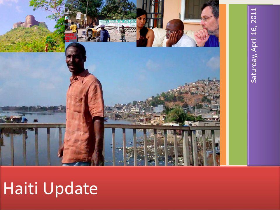 Port au Prince: first impressions