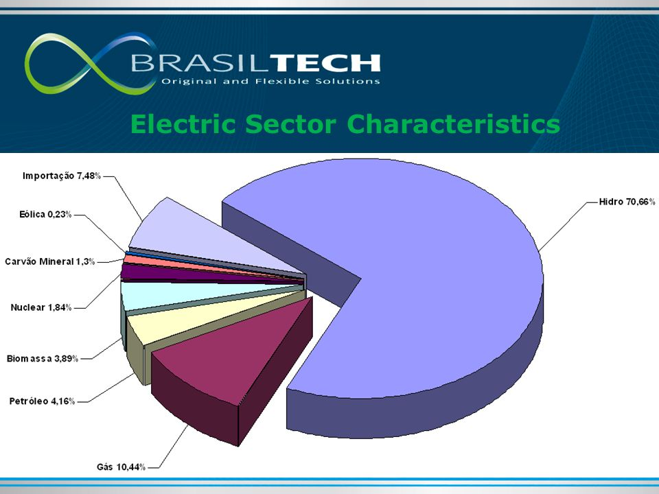 Electric Sector Characteristics