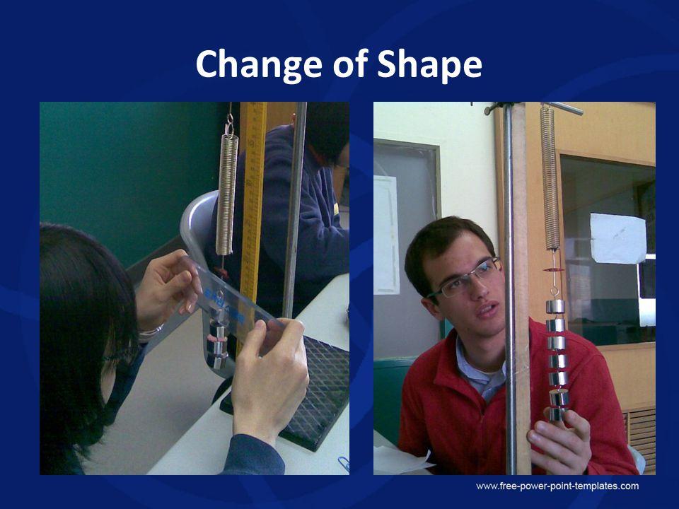 Change of Shape