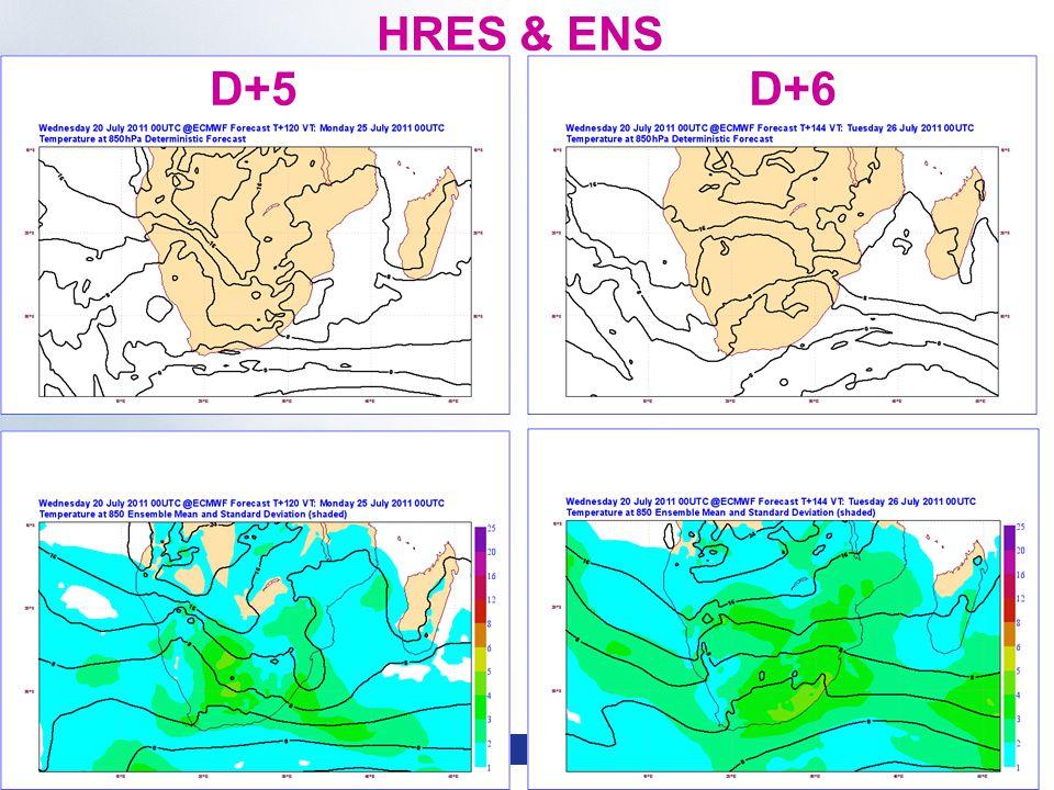 Slide 24 WMO Macao – April 2013 © ECMWF HRES & ENS D+5D+6