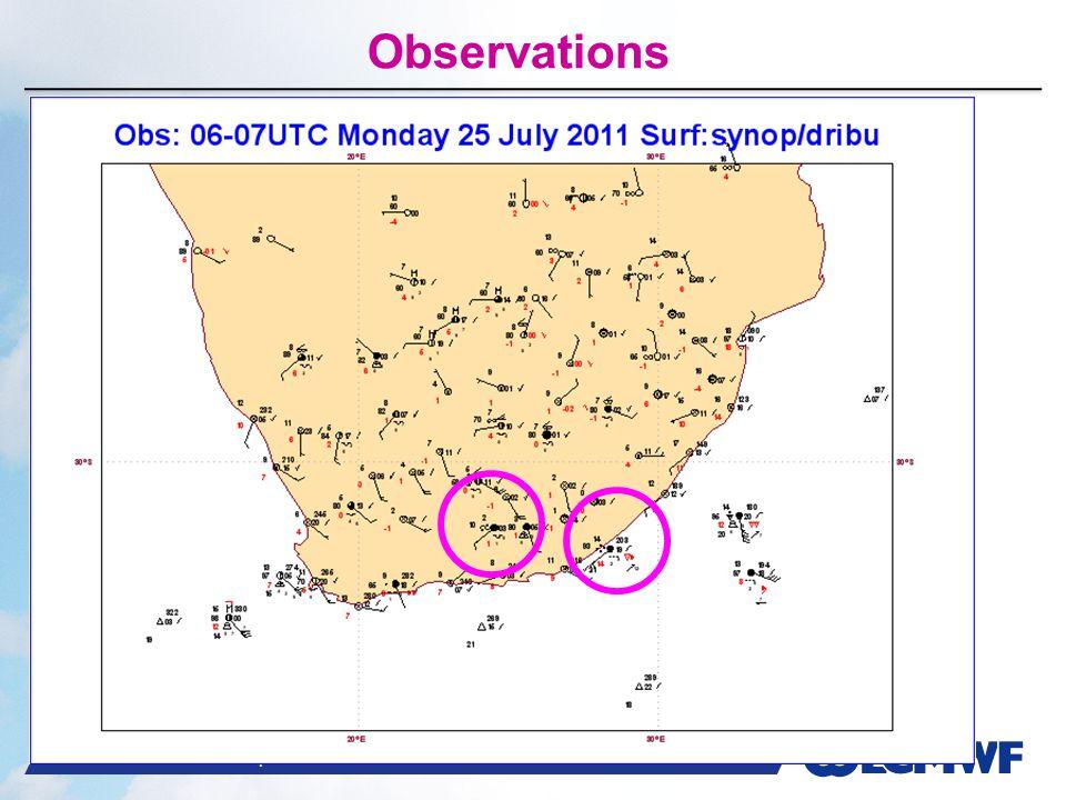 Slide 52 WMO Macao – April 2013 © ECMWF Observations