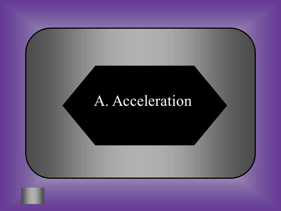 A:B: AccelerationAir resistance C:D: FrictionInertia 2 #3 What is a change in motion.