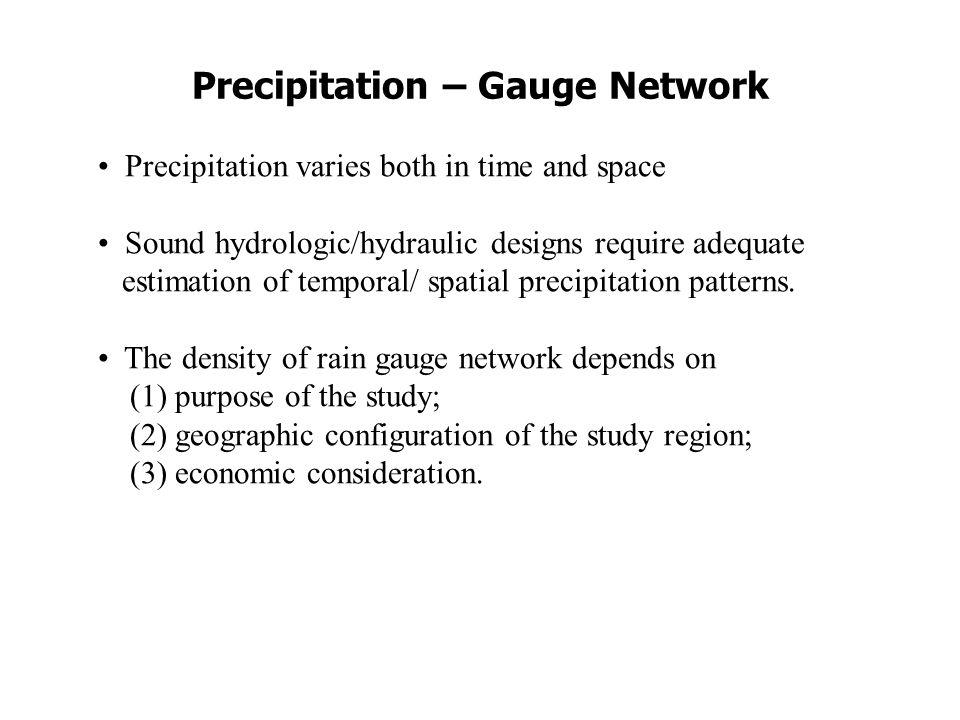 Example of Rainfall Analysis