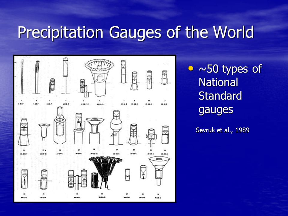 1998 World Meteorological Organization (WMO) Solid Precipitation Measurement Intercomparison (Goodison et al.