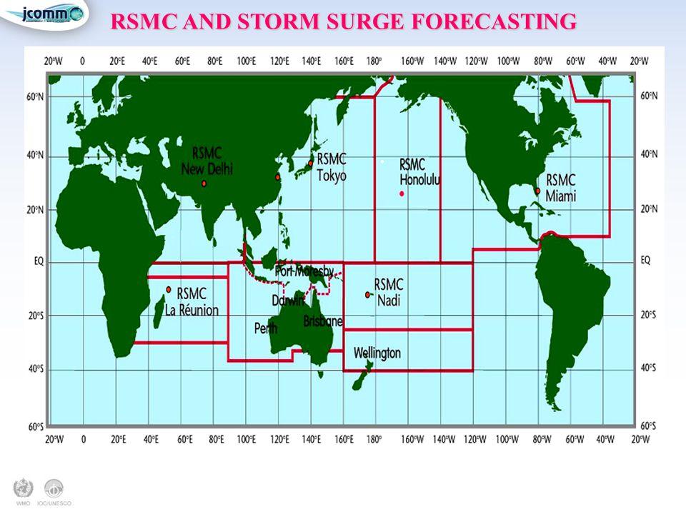 RSMC AND STORM SURGE FORECASTING