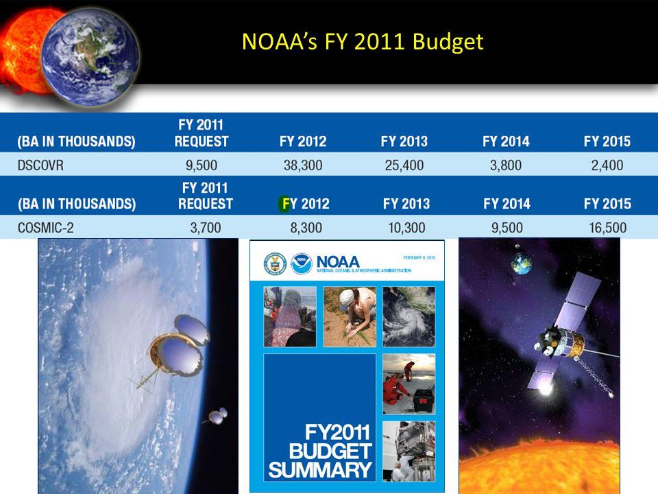 NOAA's FY 2011 Budget 8