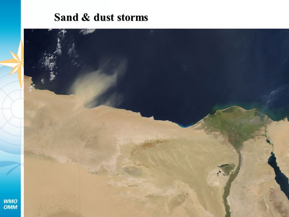 Sand & dust storms