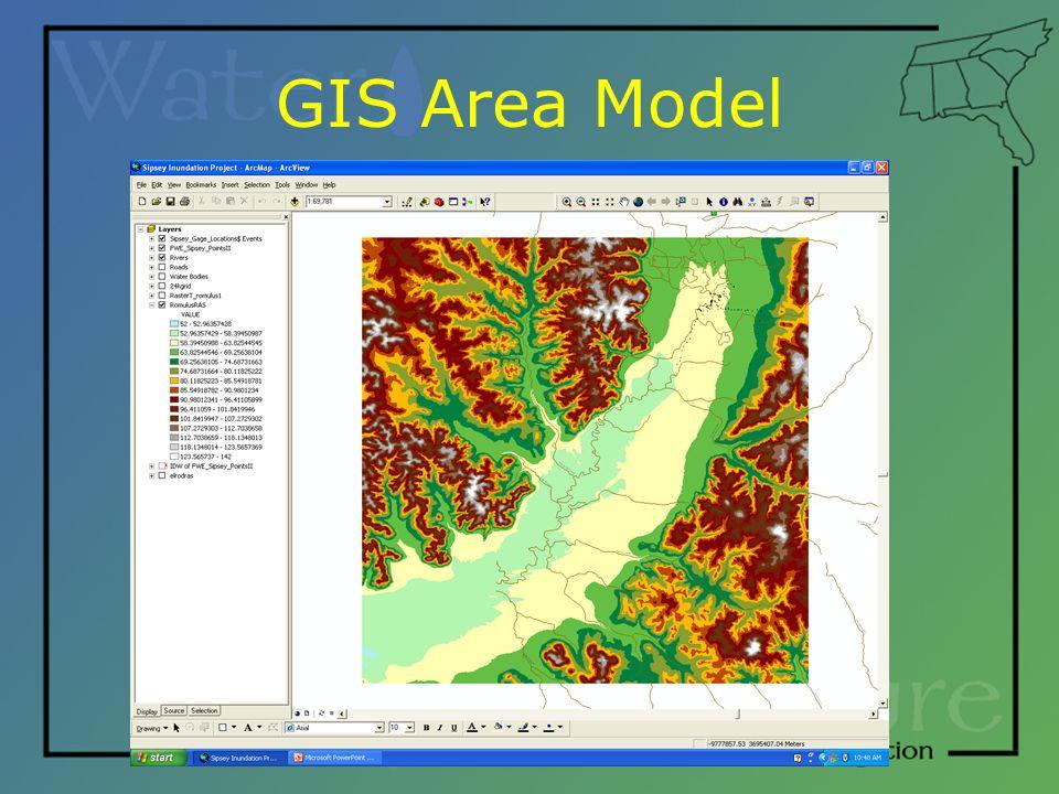 GIS Area Model