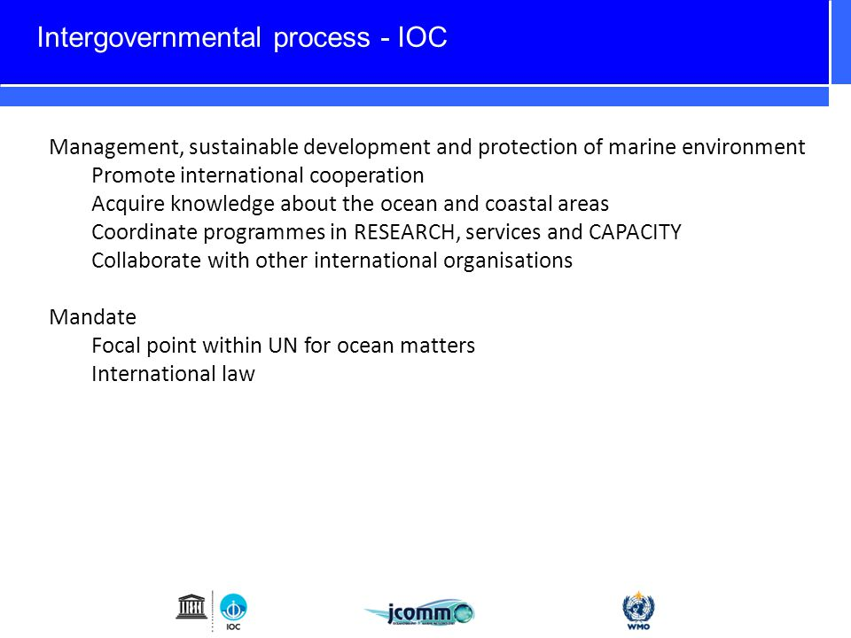 Options – Formalise GOVST within intergovernmental research program Establish GOVST as a sub-group under WCRP (http://www.wcrp-climate.org/) to drive ocean prediction within the earth system framework.