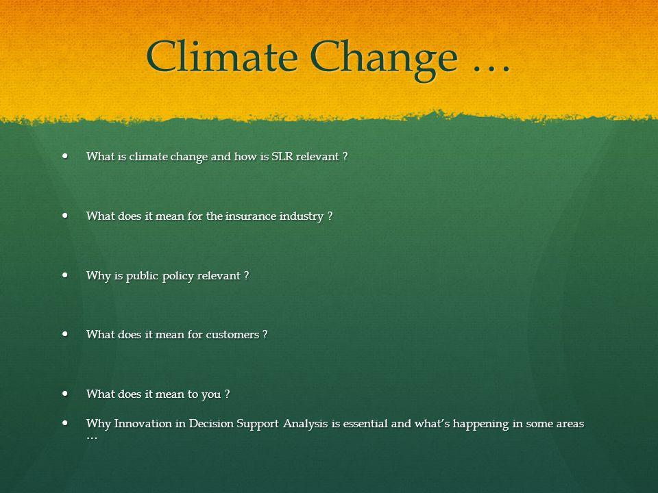 Climate Change v.