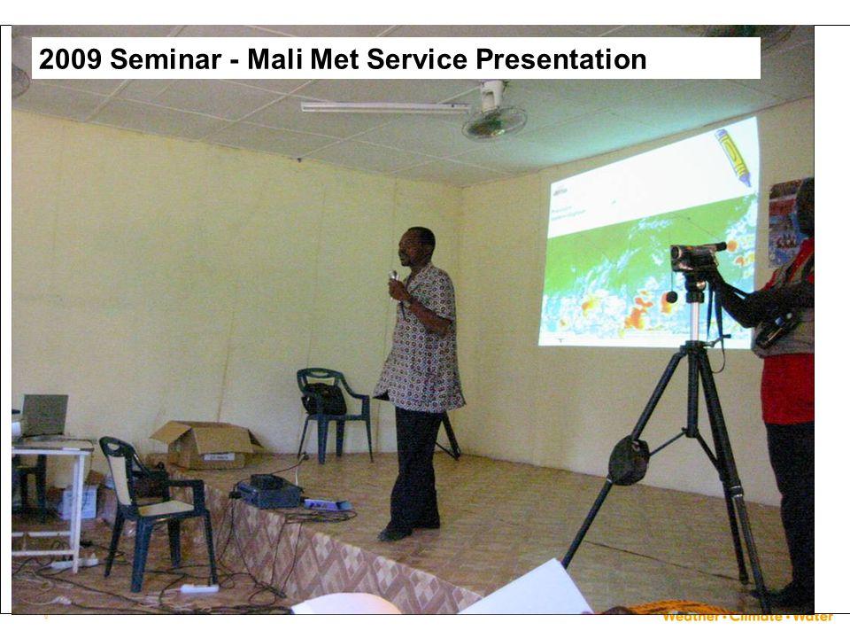 30 2009 Seminar - Mali Met Service Presentation