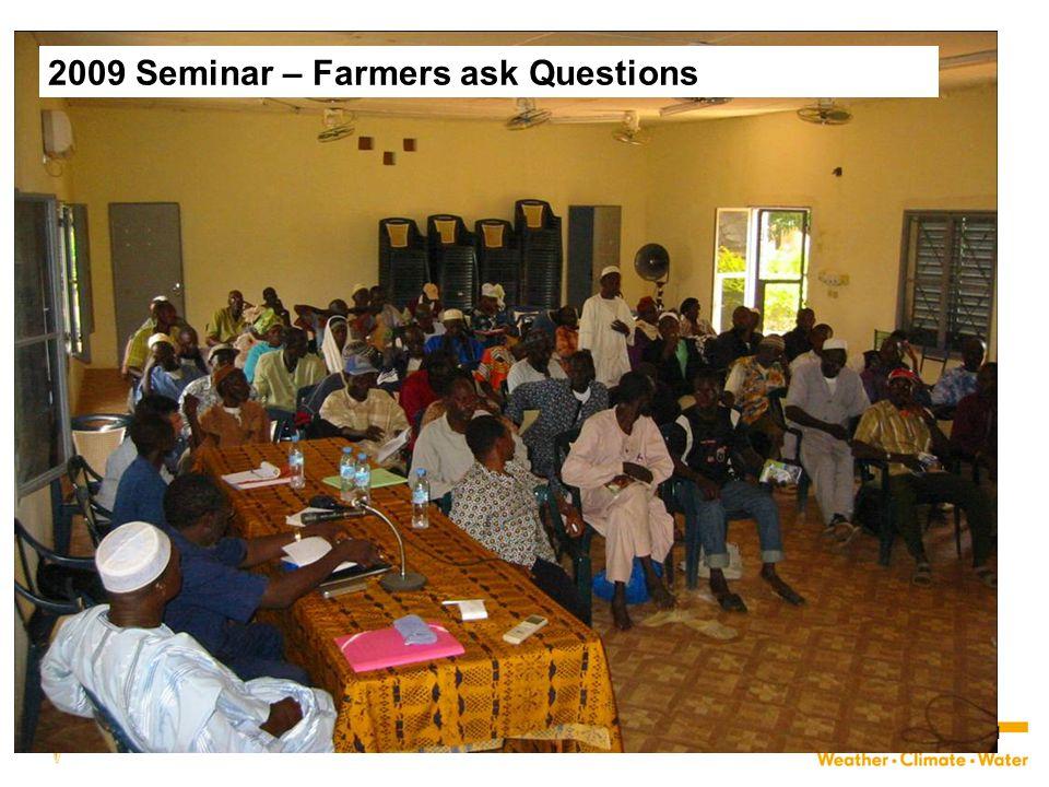 31 2009 Seminar – Farmers ask Questions