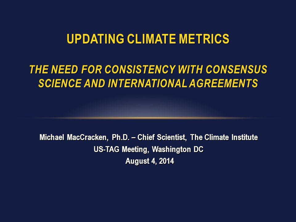 Michael MacCracken, Ph.D.