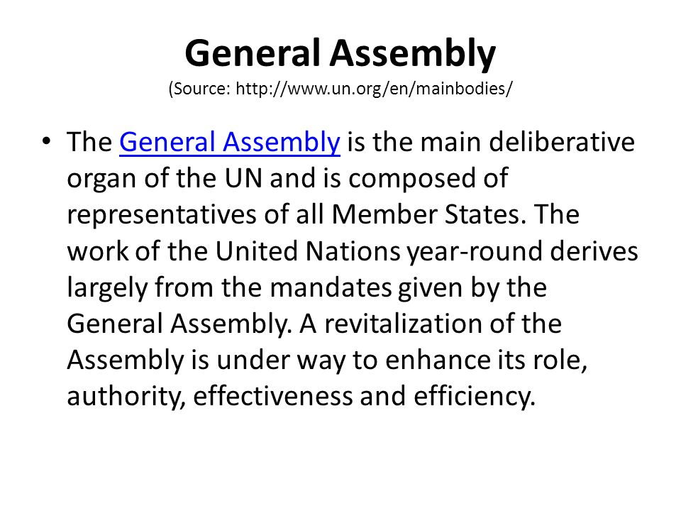 The Economic & Social Council (Source: http://www.un.org/en/mainbodies/) The Economic and Social Council (ECOSOC), established by the UN Charter, is the principal organ to coordinate the economic, social and related work of the United Nations and the specialized agencies and institutions.