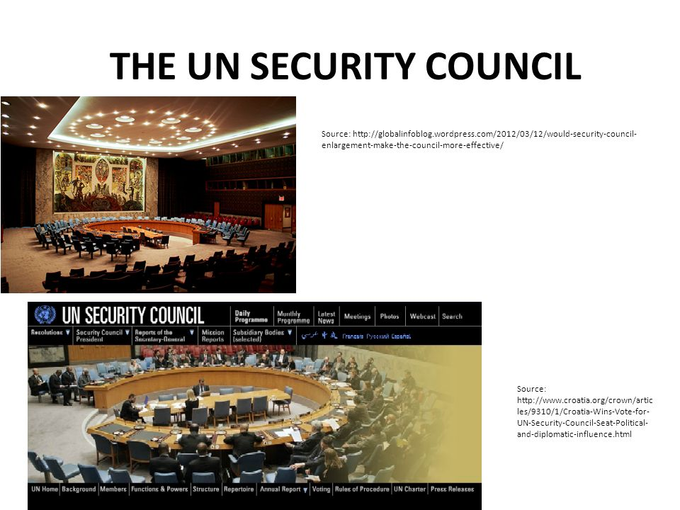 The United Nations Security Council Key Facts The Security Council has 15 members.