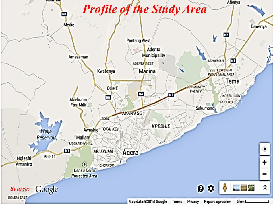 10 Source: Profile of the Study Area