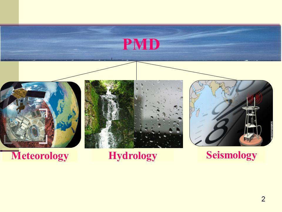 PMD Seismology Meteorology Hydrology 2
