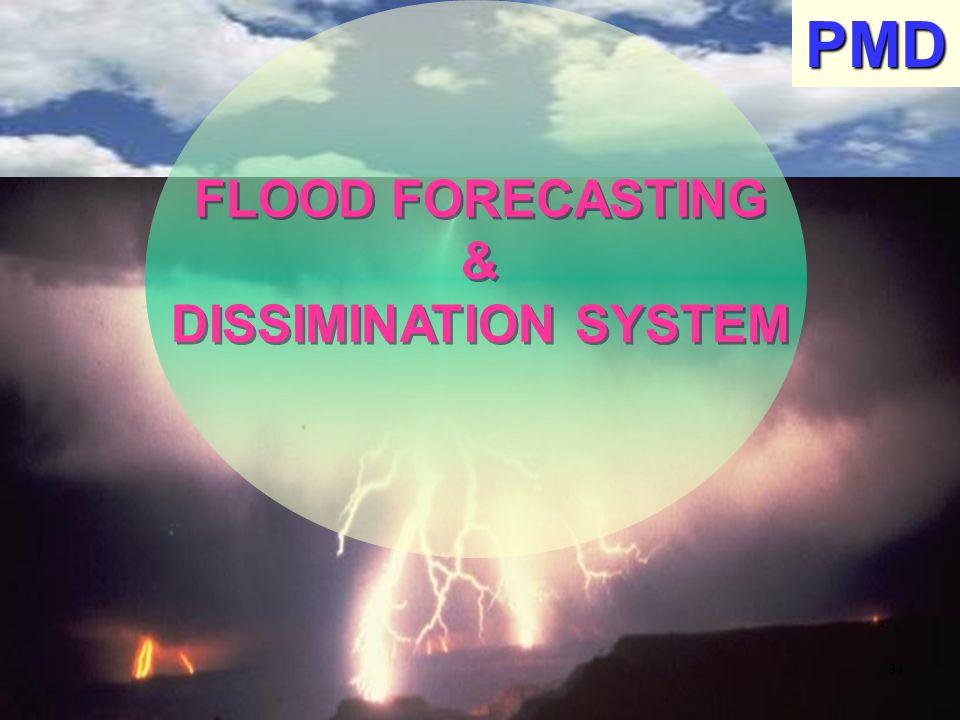 FLOOD FORECASTING & DISSIMINATION SYSTEM FLOOD FORECASTING & DISSIMINATION SYSTEMPMD 34