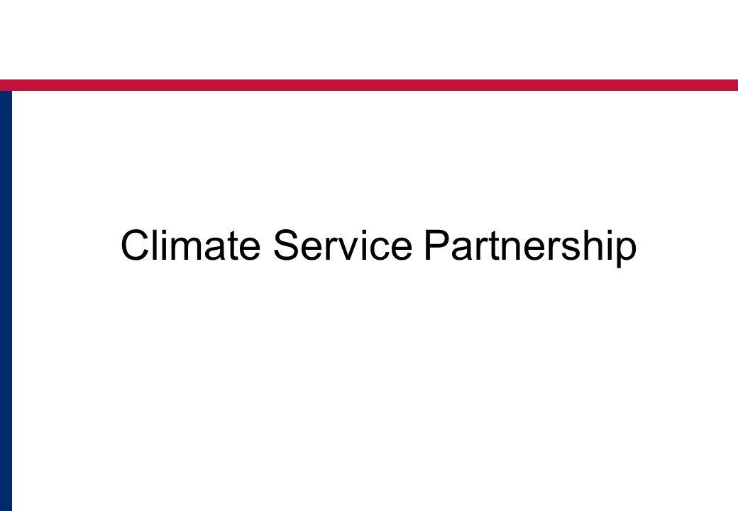Climate Service Partnership