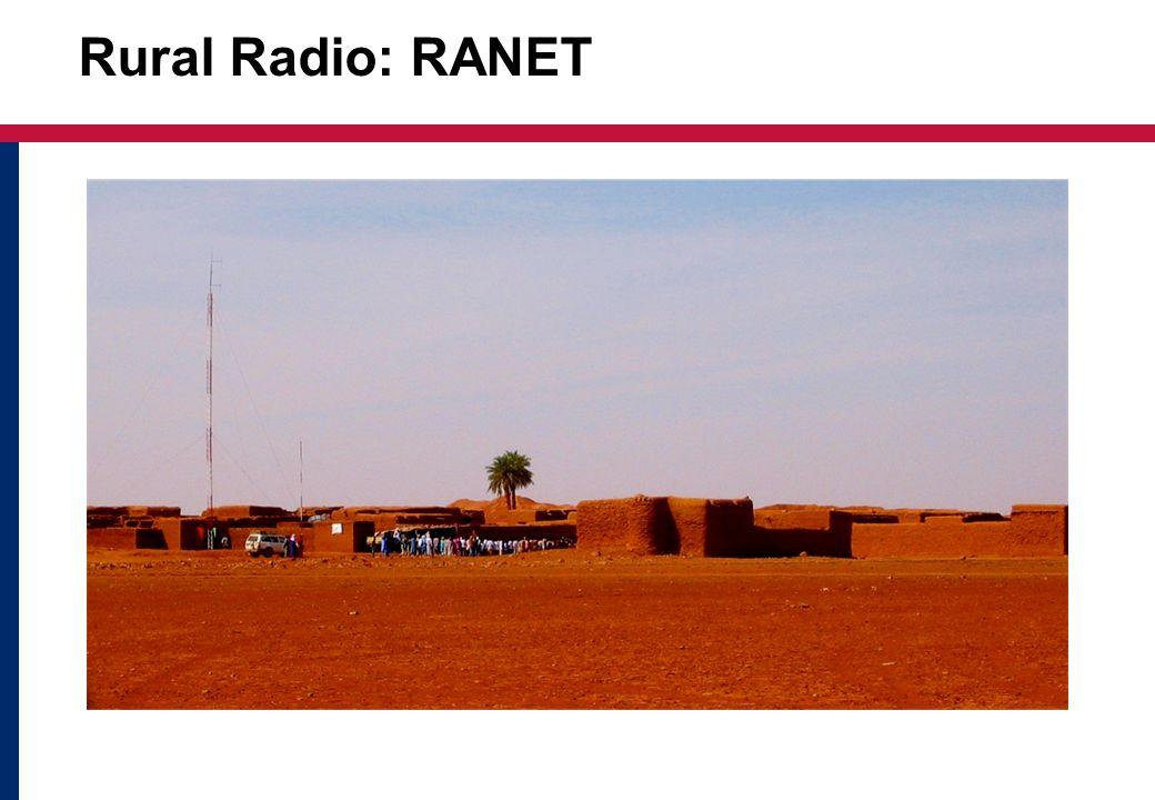 Rural Radio: RANET