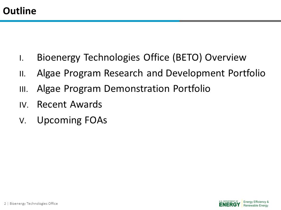 3 | Bioenergy Technologies Office The Challenge and The Opportunity The Challenge More than 13 million barrels of petroleum based fuels are required daily for the U.S.