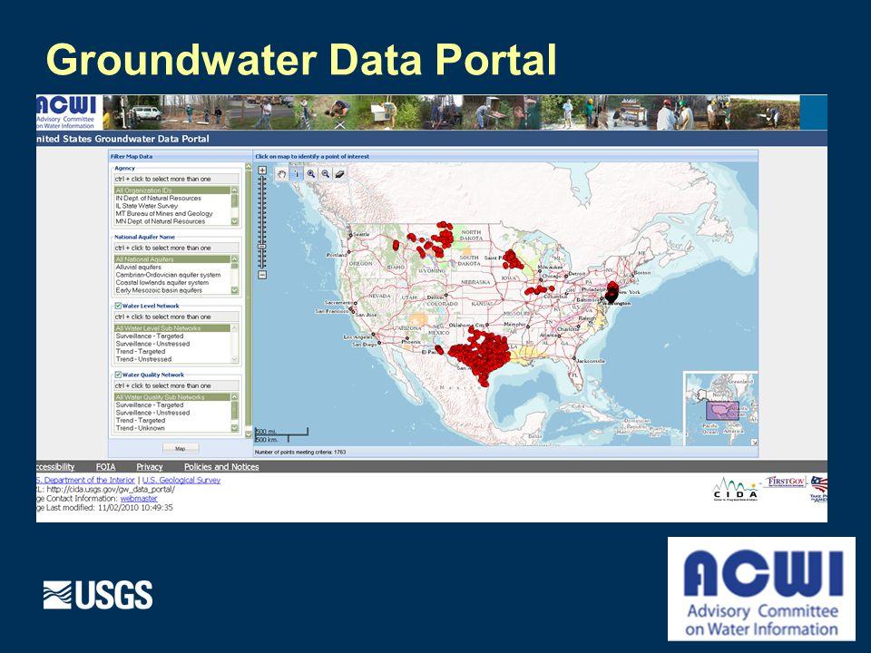 Groundwater Data Portal