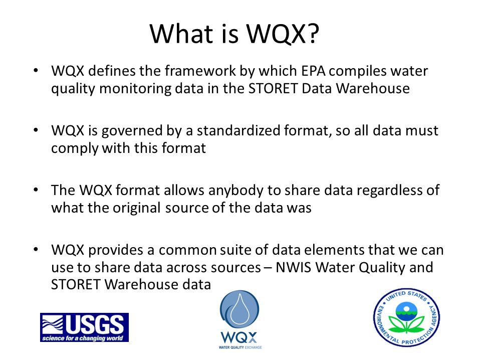 What is WQX.