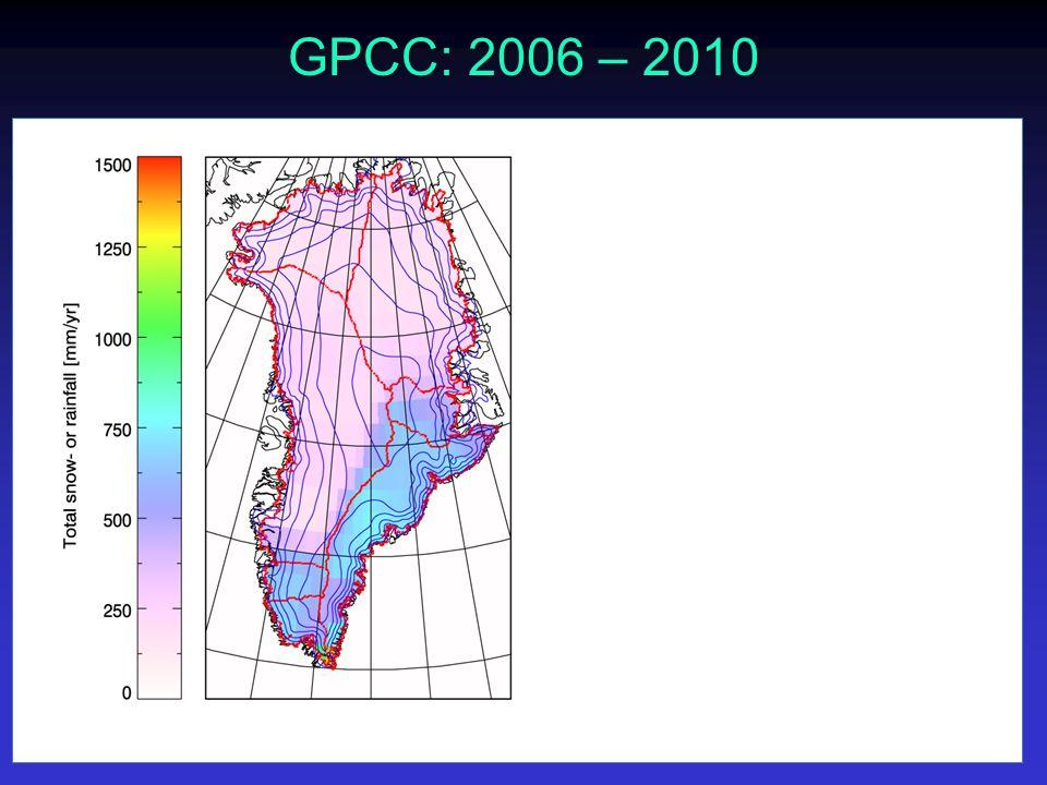 GPCC: 2006 – 2010