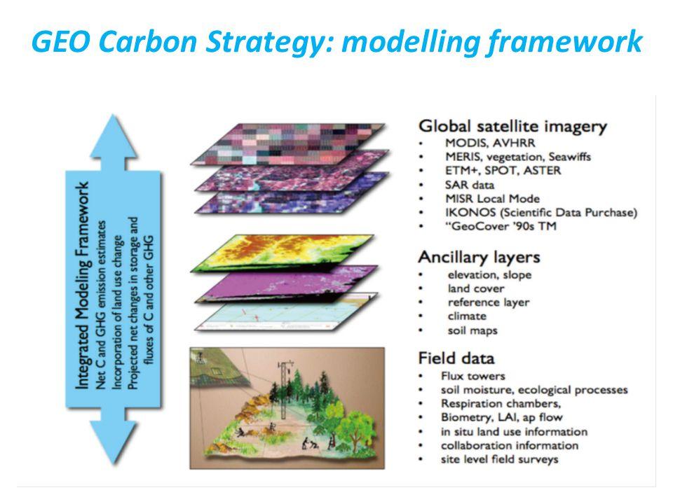 30 GEO Carbon Strategy: modelling framework