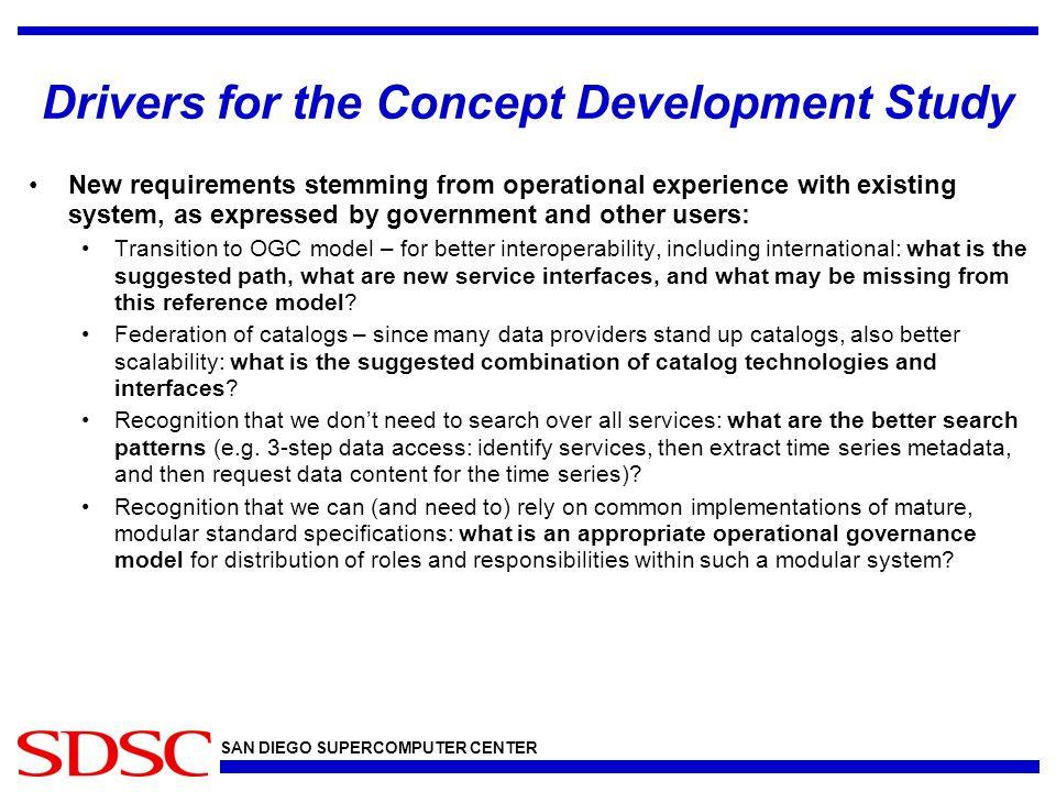 SAN DIEGO SUPERCOMPUTER CENTER Catalog technologies (2) © 2011 Open Geospatial Consortium, Inc.