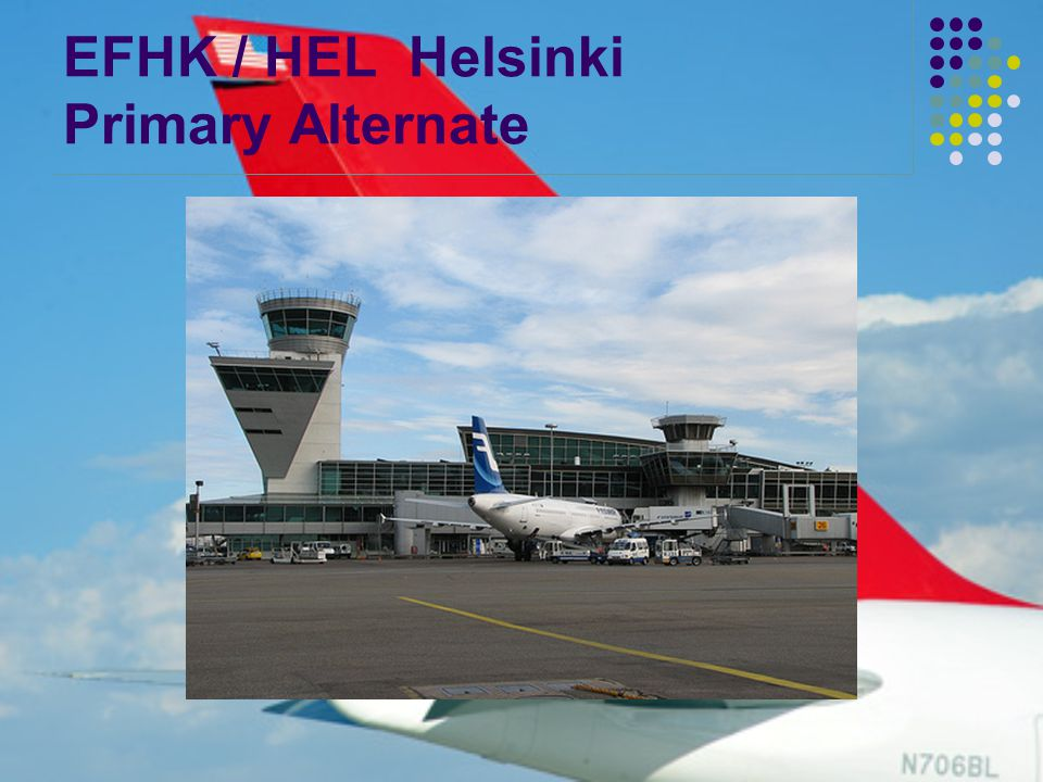 EFHK / HEL Helsinki Primary Alternate