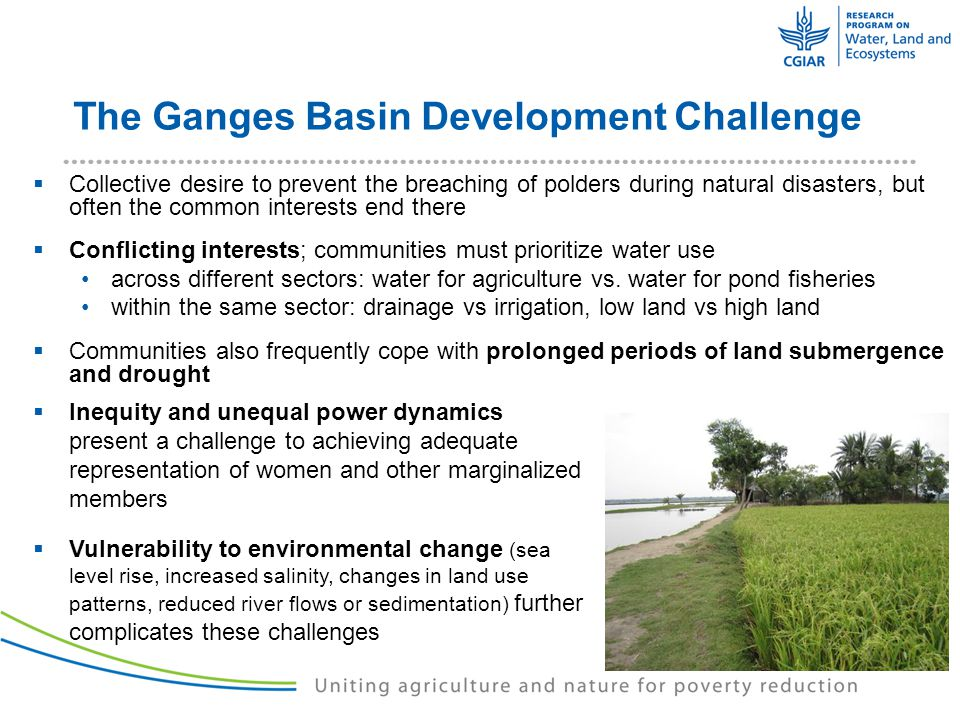 UNLOCKING THE POTENTIAL Improving Water Governance and Community-Based Management in Coastal Bangladesh THANK YOU