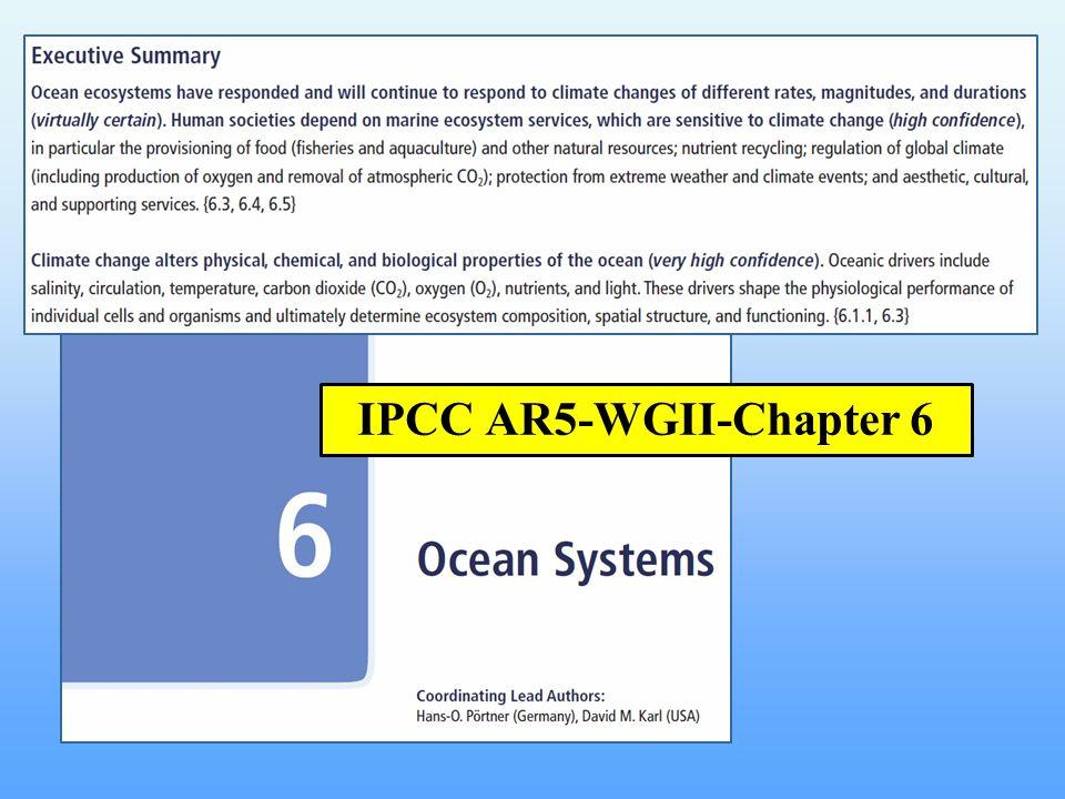 IPCC AR5-WGII-Chapter 6