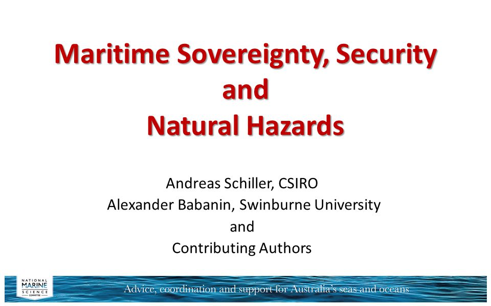 Contents  Introduction & Definitions  Scope  Science Needs Bathymetric Mapping Natural Hazards Monitoring and Forecasting  Propositions o Deep water domain o Continental shelf o Littoral zone & coastline