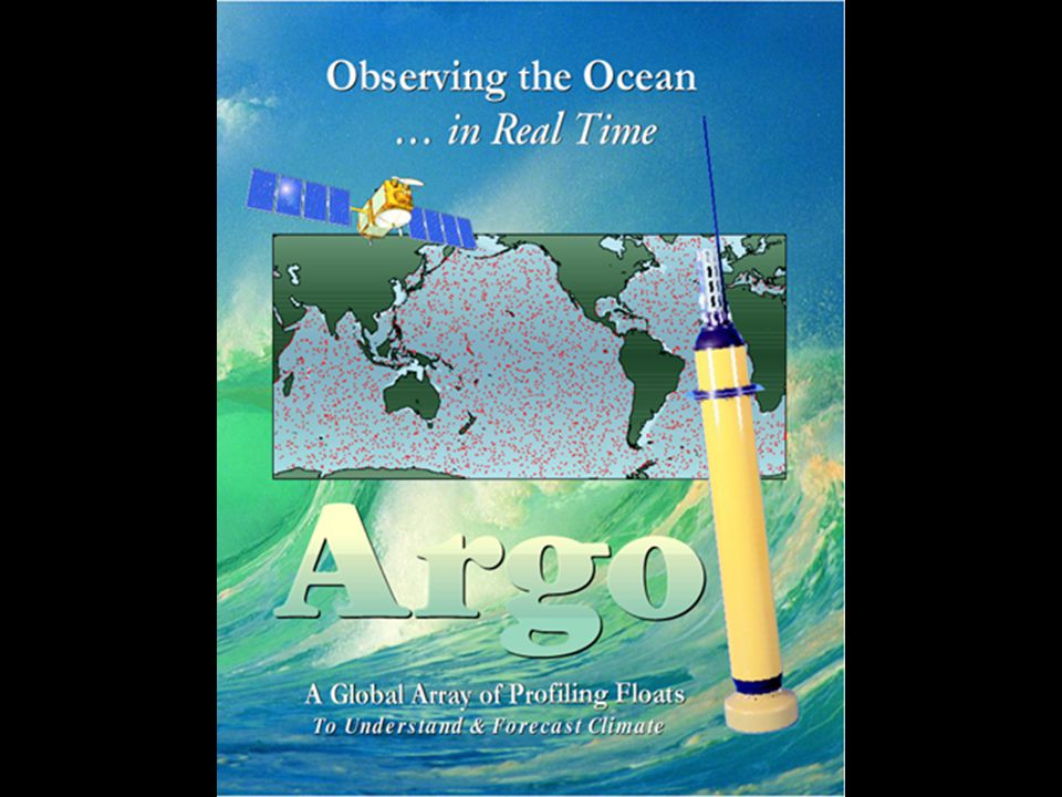 An Argo float can be thought of as an 'oceanographic radiosonde'.
