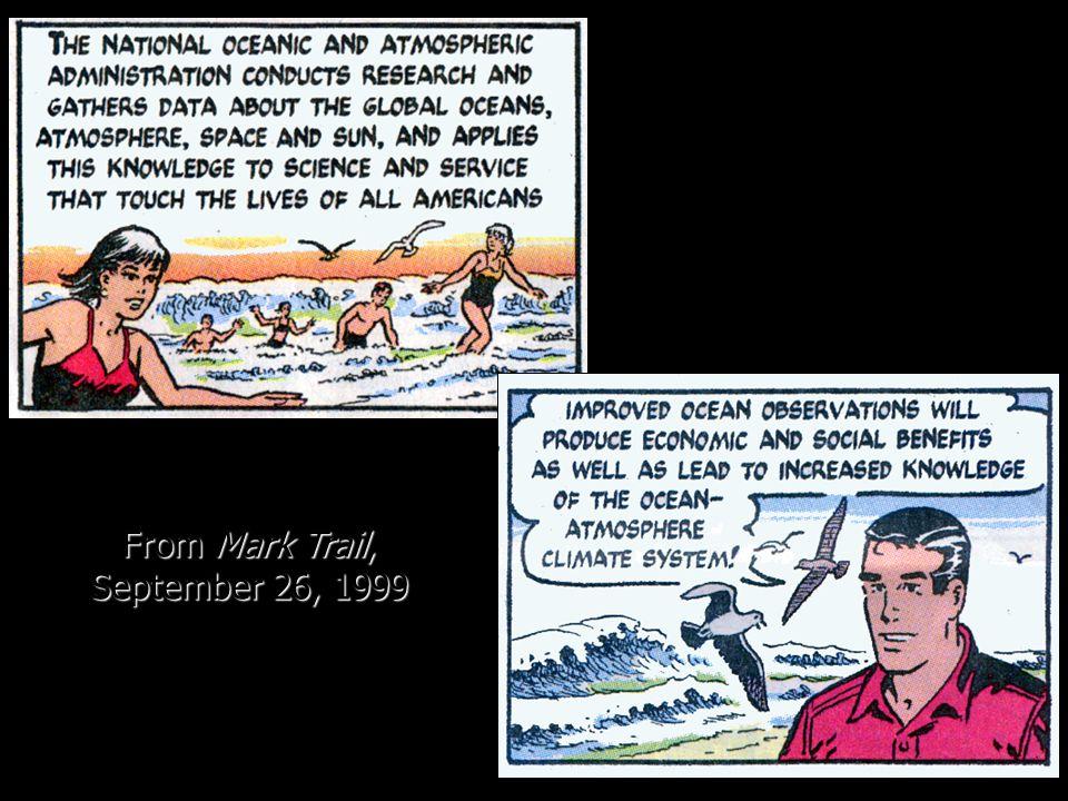 From Mark Trail, September 26, 1999