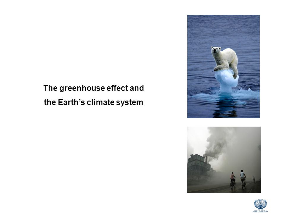 Marine Environmental Awareness Course CH 4 (ppb) Greenhouse gases Concentration (1750) Concentration (2009) Increase Warming potential RF Carbon Dioxide (CO 2 ) 280 ppm386.8 ppm38%163.6% Methane (CH 4 )700 ppb1803 ppb158%2118.1% Nitrous Oxide (N 2 O)270 ppb322.5 ppb19%3106.3% F-gases (CFCs,HFCs,SF 6 ) -900 ppt-140 - 2390012% Source: World Meteorological Organization (WMO) Human-induced increases in GHGs