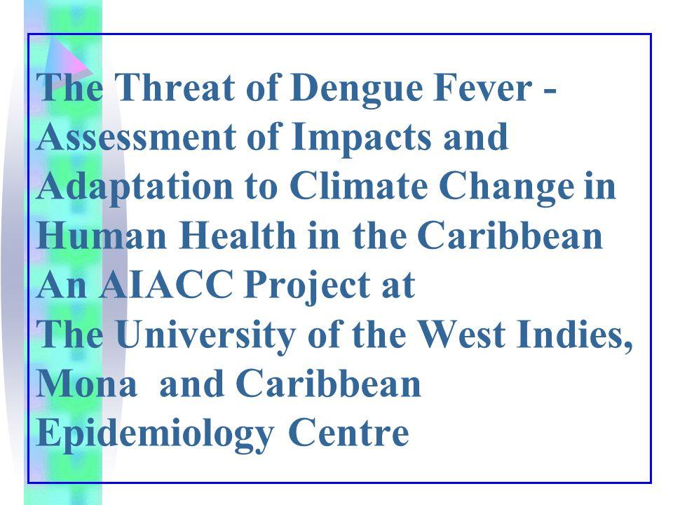 Dengue in the Caribbean and El Nino years and year after an El Nino - El Nino +1 El Nino El Nino + 1