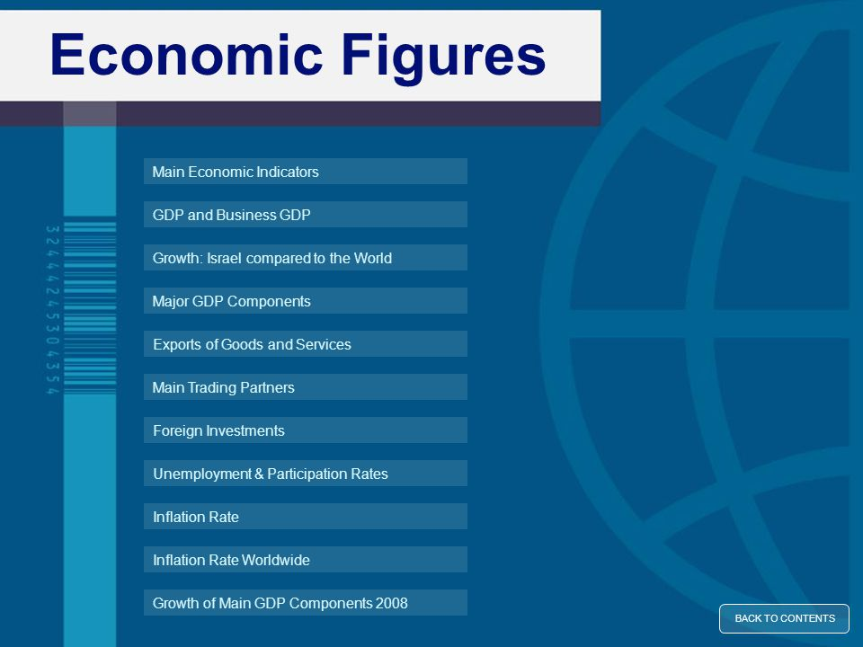 Source: International Institute for Management and Development (IMD), World Competitiveness Yearbook 2010 IMD World Competitiveness Yearbook 2010 The Institute for Management Development ranked Israel 17 th out of 58 countries for 2010 CONTINUE