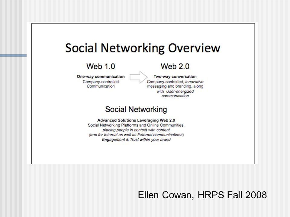 Ellen Cowan, HRPS Fall 2008