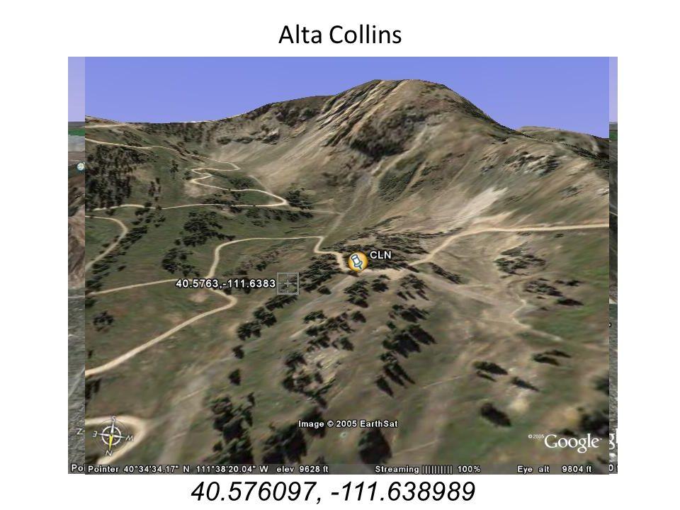 Alta Collins 40.576097, -111.638989