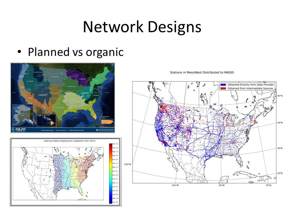 Planned vs organic