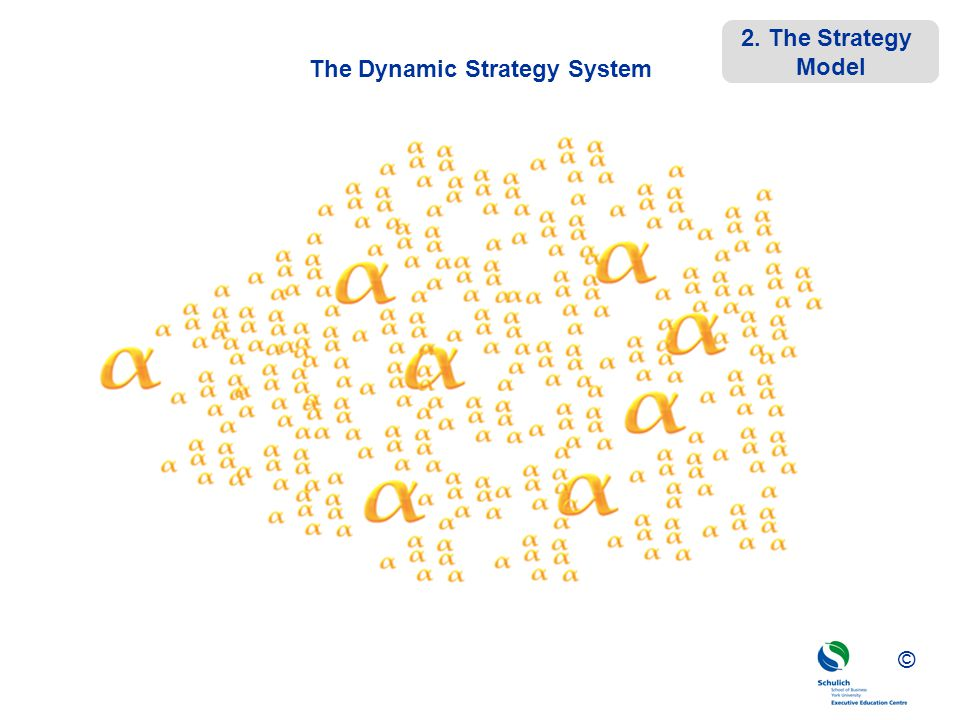 ©© © The Dynamic Strategy System 2. The Strategy Model
