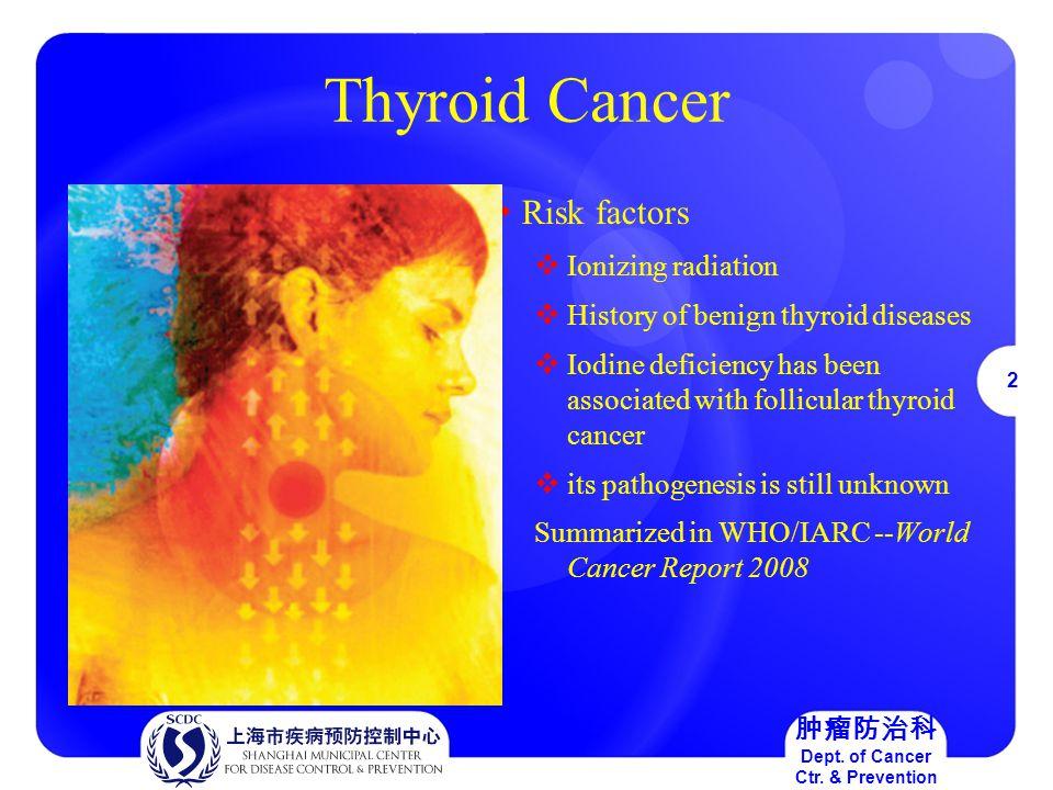 23 肿瘤防治科 Dept.of Cancer Ctr.