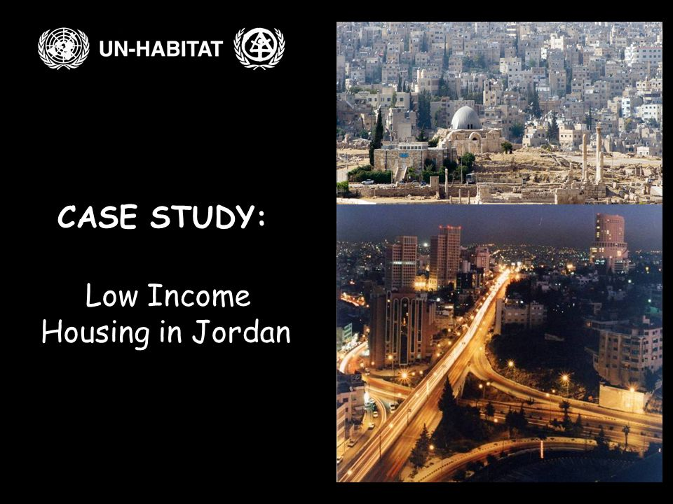CASE STUDY: Low Income Housing in Jordan