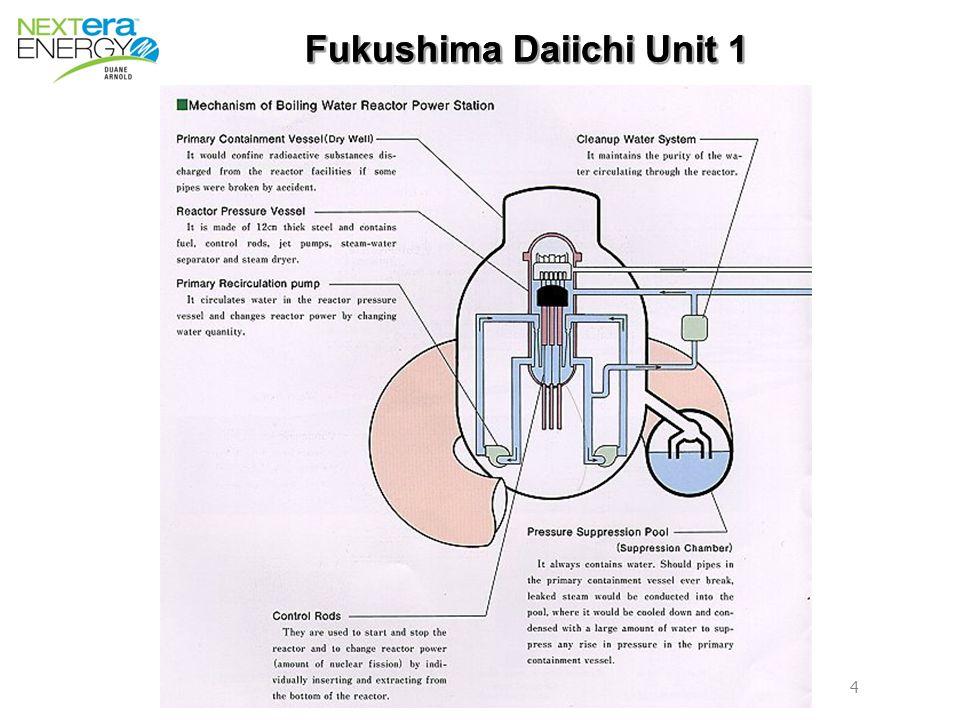 4 4 Fukushima Daiichi Unit 1 Fukushima Daiichi Unit 1
