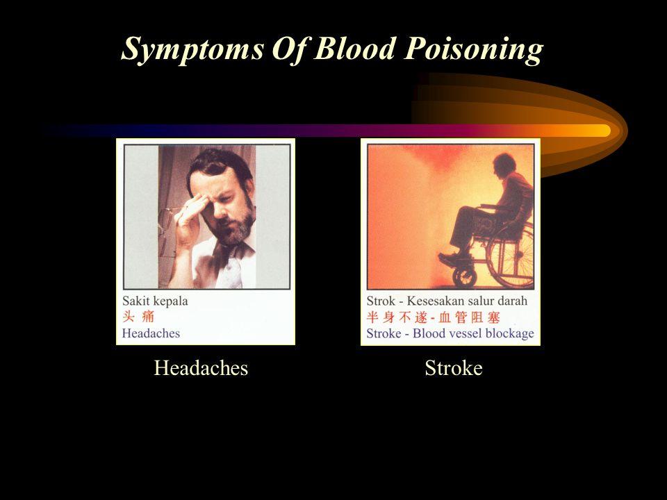 Symptoms Of Blood Poisoning HeadachesStroke